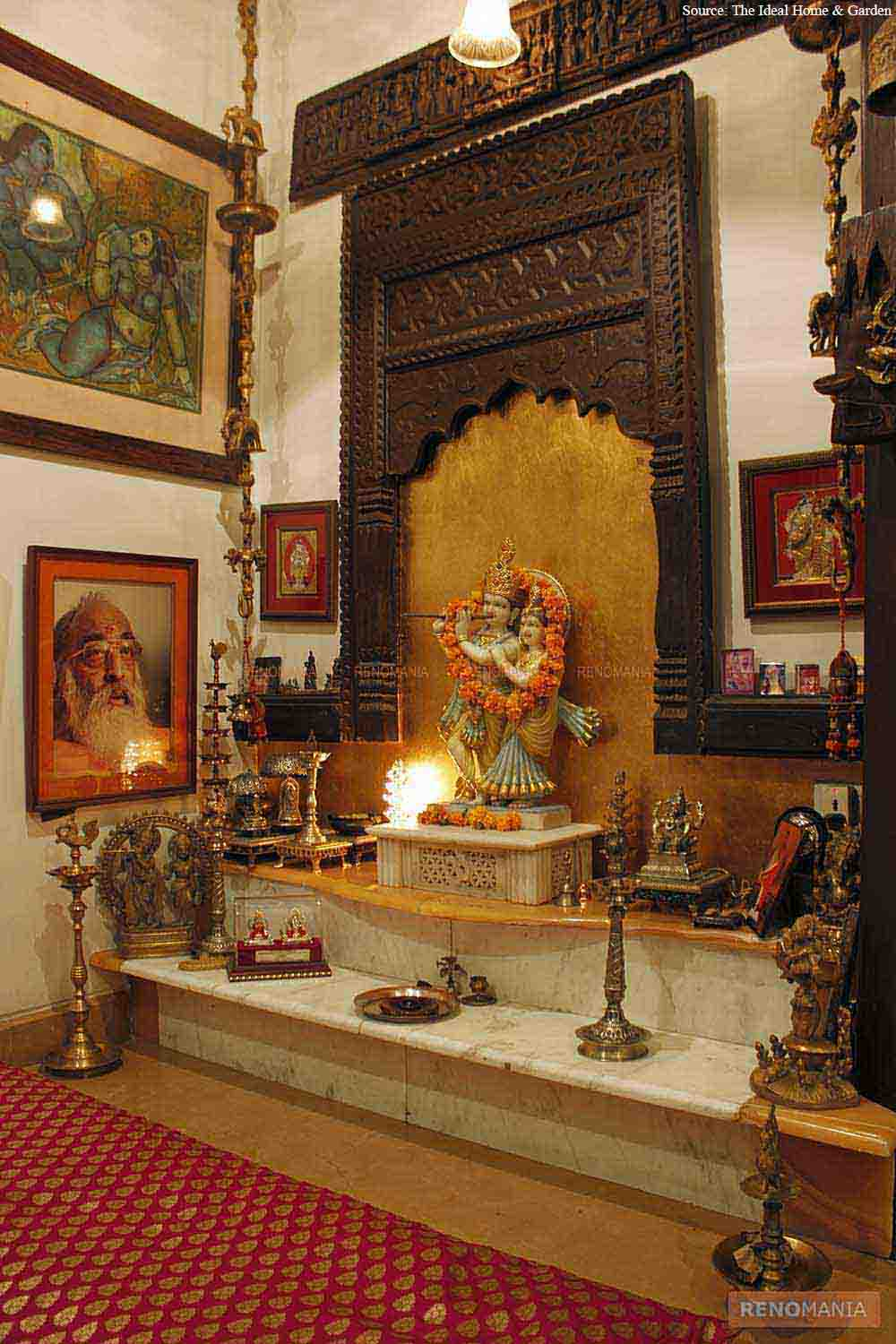 How can you decorate the Pooja Room? by ColourDrive ...