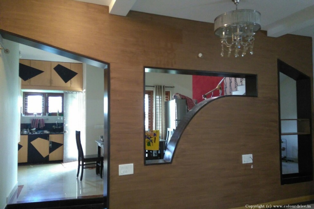 recent projects done by colourdrive at balaji layout gottigere